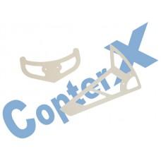 CopterX 450 Helicoptor Part: Aluminum Stabilizer Set No: CX450-06-04