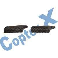 CopterX 450 Helicoptor Part: Carbon Tail Rotor Blade No: CX450-06-06