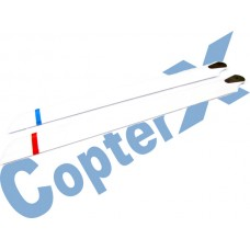 CopterX 450 Helicoptor Part: Wooden Main Rotor Blade No: CX450-06-01