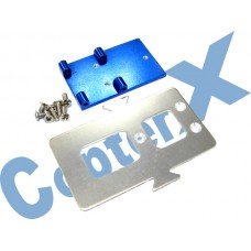 CopterX 450 Helicoptor Part: Aluminum Battery Mounting Plate No: CX450-03-21
