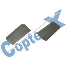 CopterX 450 Helicoptor Part: Flybar Paddle Set No: CX450-01-10