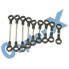 CopterX 450 Helicoptor Part: Linkage Rod Set No: CX450-01-12