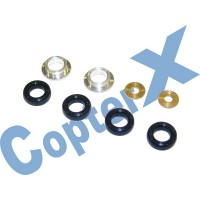 CopterX 450 Helicoptor Part: Damper Rubber Set No: CX450-01-16