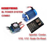 Hobbywing Ezrun 9T/SL-3650M  4300KV motor+eZRun-35A-SL brushless ESC