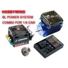 Hobbywing EZRUN EZRUN-150A-SD ESC & EZRUN-4465SL For 1/8 Car