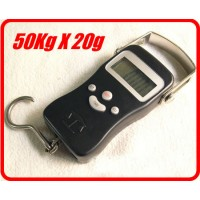 20G - 50KG 110LB DIGITAL HANGING SCALES FISHING SCALE