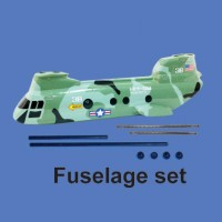 Walkera 38# Parts Fuselage set HM-38#-Z-21