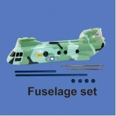Walkera 38# Parts Fuselage set HM-38#-Z-21