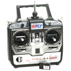 6CH 6Channel Transmitter Receiver FT06-C Support CCPM