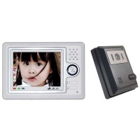 "5"" Color Monitor Camera Video Door Phone Intercom"