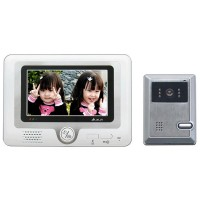 "7"" Color Monitor Camera Video Door Phone Intercom"
