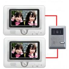 2in1 7'' Color Monitor Camera Video Door Phone Intercom