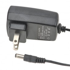 AC to DC Power Adaptor IN 100-240V OUT 12V 1A 1000mA US