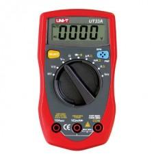 Uni-T UT33A   Palm-Size Digital Multimeters