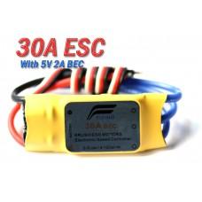 Flying 30A Brushless Motor Speed Controller ESC w/ BEC