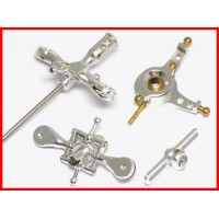 CNC Metal Head Upgrade kit 4 esky LAMA V3 V4 SILVER SET