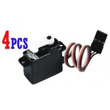 4x EK2-0508 Esky Mini 7.5g Digital Servo V3 V4