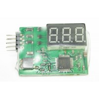 3S Li-Po Battery Voltage Indicator Checker Tester