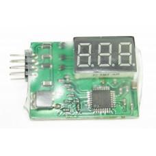 3S Li-Po Battery Voltage Indicator Checker Tester