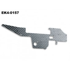 Right-upper frame195*61.5*1mm No: EK4-0157