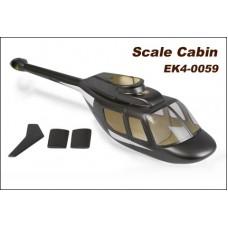 Scale canopy - Jet Ranger No: EK4-0059