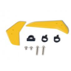 Vertical & horizontal tail blade set (yellow) No:EK1-0546