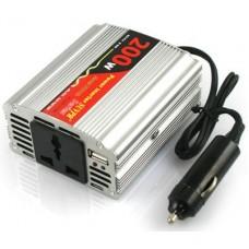 200W Car 12V DC to 220V AC Power Inverter Adapter