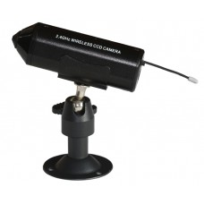 2.4GHz 4CH Wireless  CCD built in Lithium Battery Camera