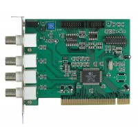 4 Channel 25/30 pfs Video DVR PCI Card
