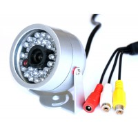 30 IR LED Night Vision Security CCTV Audio Color Camera