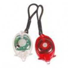 MiniLyghter Premium Quality 2-Mode LED Flashlight Keychain (2-Pack)