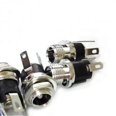 10pcs x DC Socket DC Power Connector socket 5.5-2.1MM Metal DC-021