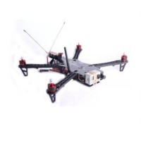 FPV RTF NAZA + GPS Multi-Rotor Copter Quadcopter Kit with Single Axis PTZ FS 9Ch TX RX