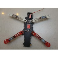 Multi-Rotor Copter Matte Processed Quadcopter Frame Kit for FPV System