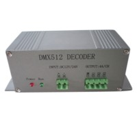 CL-DMX512-1 DC12V/24V Decoder LED Controller for RGB LED Strip