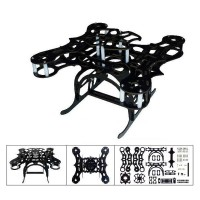 Mini Size KK MK Multi-Copter Frame ANGEL 250 With Pan/Tilt/Zoom PTZ Quadcopter