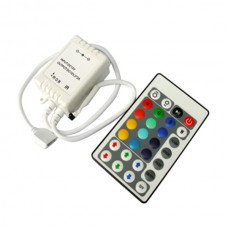 CL-C1210IR- 28 Keys RGB LED Controller for RGB Flexible LED Strip DC5V/12V/24V