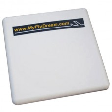 5.8G 23dBi High Gain Flat Panel Antenna With SMA Extend Cable for FPV System