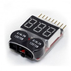Lipo Battery LED Voltage Meter Indicator Alarm