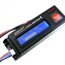 2-8S Lipo Battery Detection Monitors
