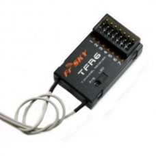 Frsky 2.4G 7 Channel Receiver Compatible with FASST 2.4G Futaba Radio