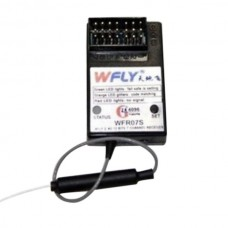 WFLY WFR07S 7 Channels 2.4GHz Receiver for Airplane Helicopter Multicopter Glider
