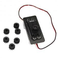 4pcs Plastic Servo Gear for Booy FPV Camera Mount PTZ