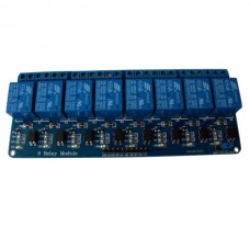 8 Channel PLC Relay Module Board DC 5V with Coupler for PIC AVR MCU DSP Arduino