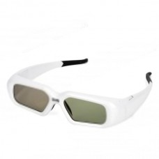 Universal USB Rechargeable 3D Active Elcctronic Shutter Glasses for 3D TV Movies White