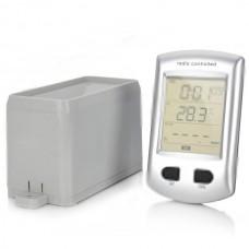KG208 Wireless Rain Gauge with Indoor Thermometer Clock