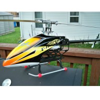 RJX X-TRON 500EP FBL Carbon Fiber 500 Class Electric RC Helicopter Frame