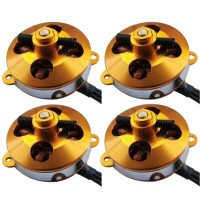 XXD A2204 1400KV 10V Outrunner Brushless Motor for RC Multicopter-4Pack