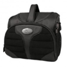 NB-0061 Zippered Top Water Resistant Shockproof Bag for Camera DV Black