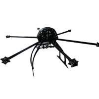 MK KK Multi-rotor Hexcopter Folding Frame 715mm Wheelbase with Tall Landing Skid